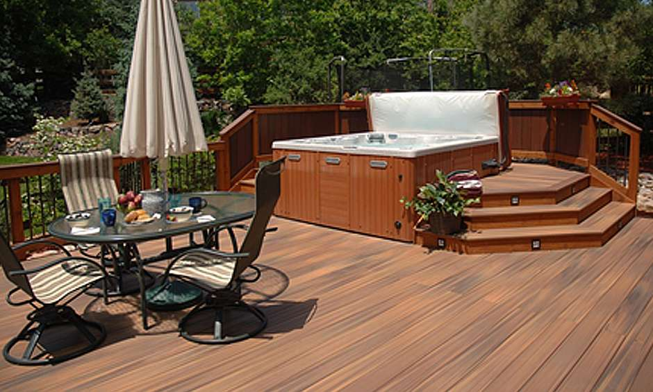 Decks and hot tubs what you need to know before you build for Pool spa show winnipeg