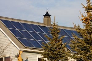 Installing A Solar Powered Garage Door At Your Cabin